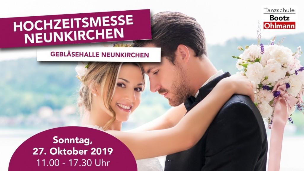 Romantik Hochzeitsmesse Neunkirchen - 27. Oktober in der Gebläsehalle