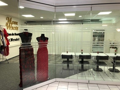 Unser neuer Showroom für Brautmoden Neunkirchen Saar