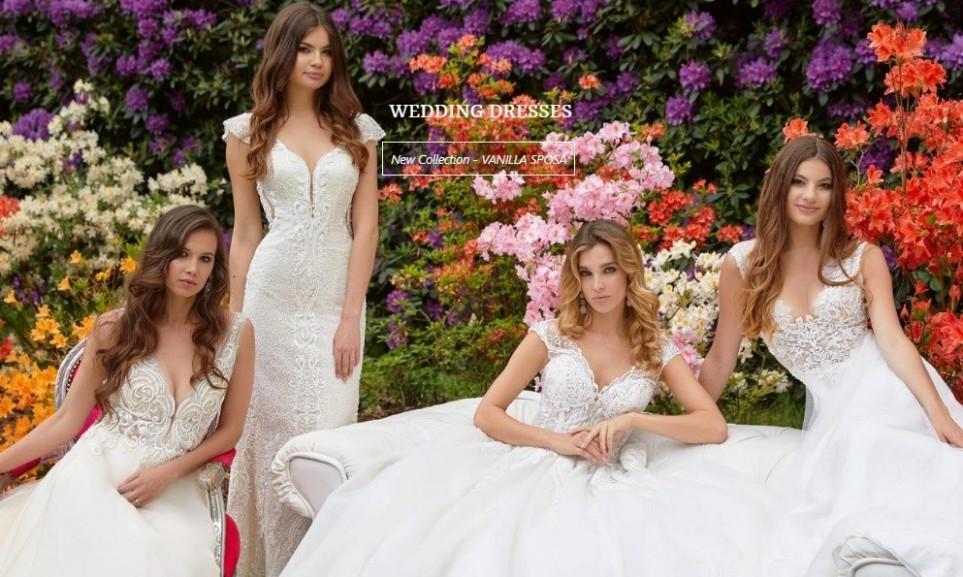 Neue Brautkleider - Kollektion von Sposabella auch im Saarland