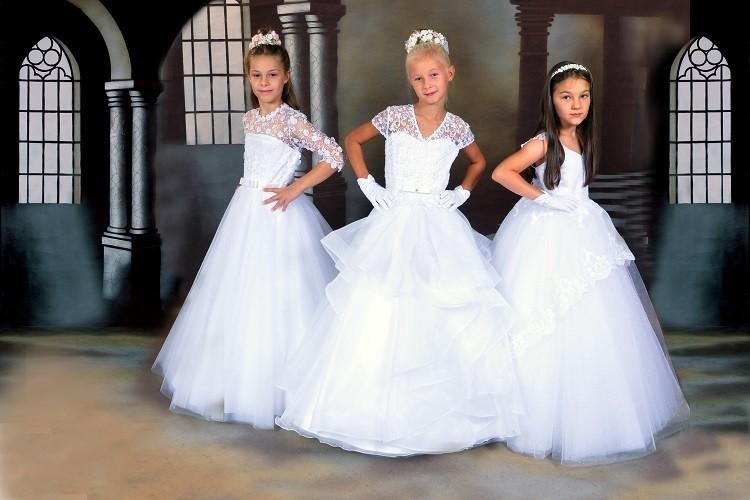Kommunionkleider & Brautmode aus eigener Mode - Manufaktur