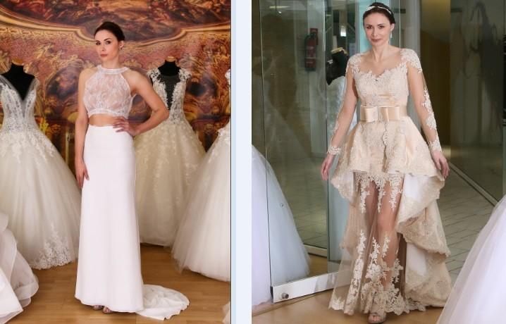 Brautkleider online - unsere neue Hochzeitskleider Website