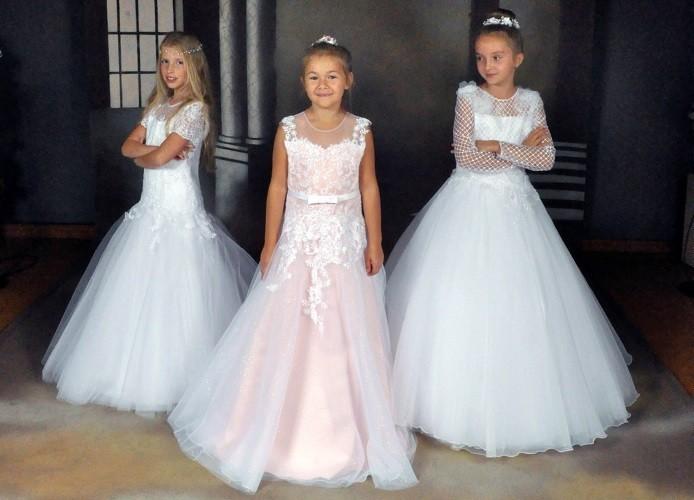 Neue Kommunionkleider 2019 & Hochzeitskleider Kollektion