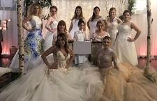 Hochzeitsevent mit Modenschau, Brautkleider-Kollektion 2019