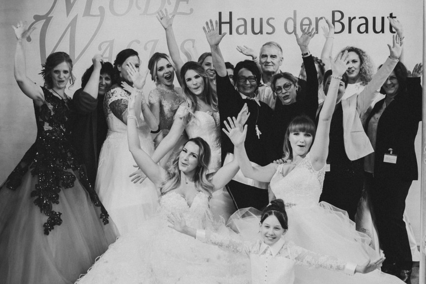 Brautmoden Messe 2019 in Saarbrücken / Saarland