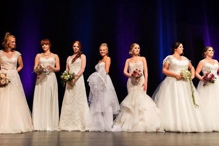 Brautmdode Messe 2019 in Neunkirchen Gebläsehalle