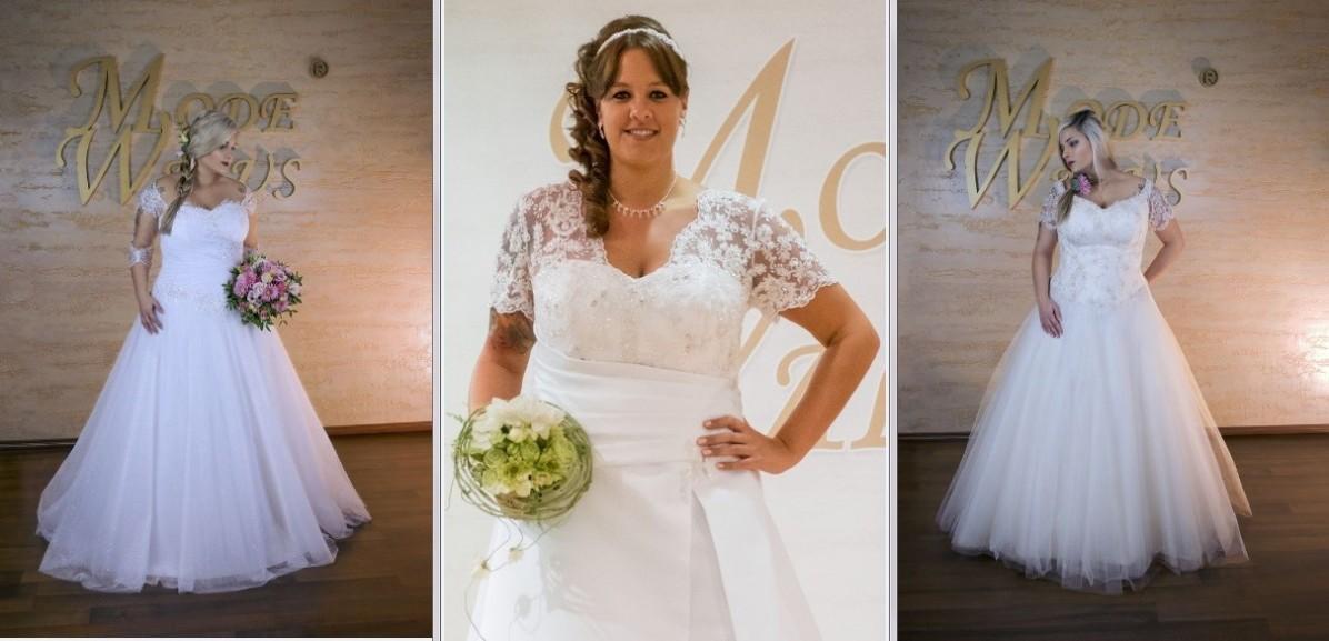 Brautmode in große Größen & XXL Übergrößen Hochzeitsmode