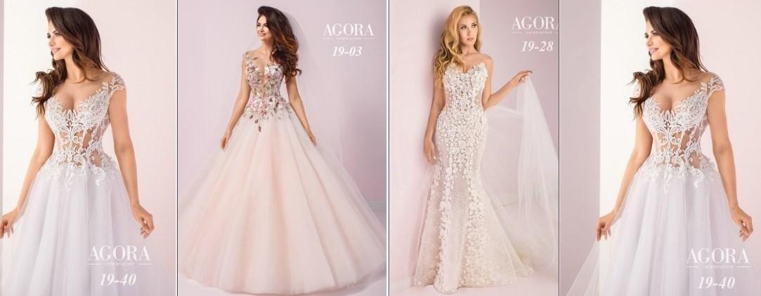 Die neue Brautkleider-Kollektion 2019 von AGORA