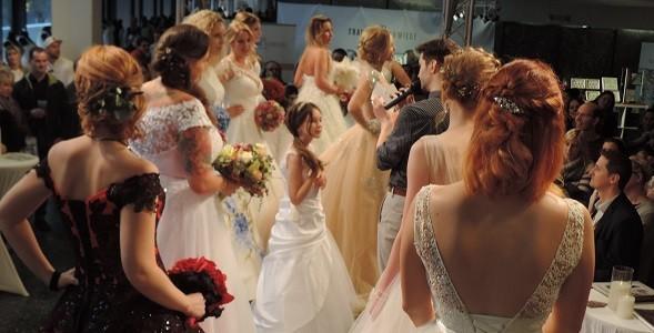 Rückblick auf die Brautkleider Messe in Saarbrücken / Saarland
