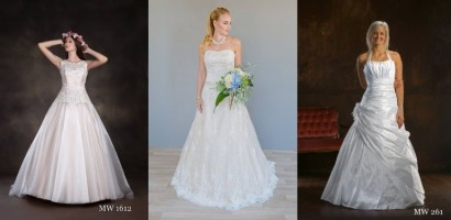 reduzierte Hochzeitskleider im Brautmoden-Outlet-Bereich