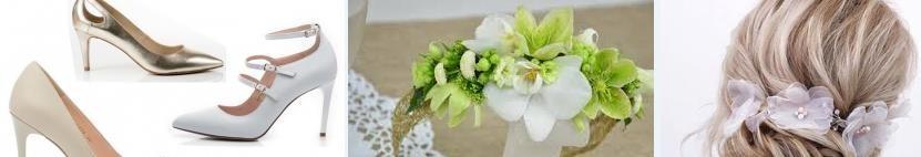 Passenden Hochzeitsaccessoires für die Braut