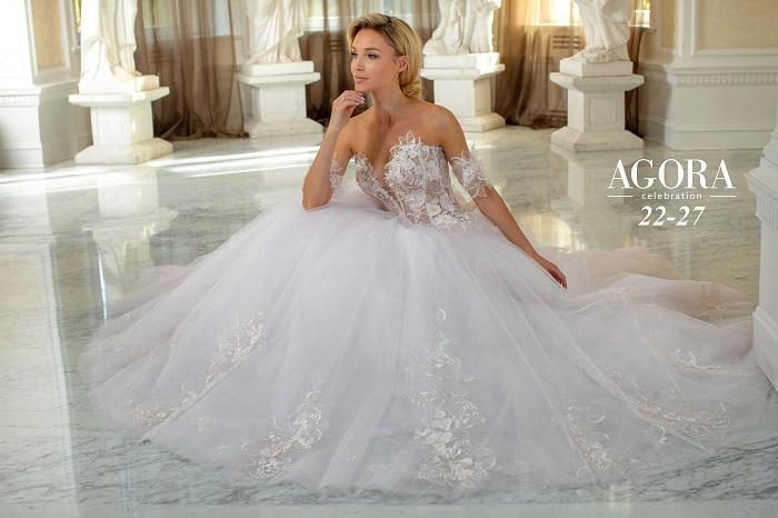 Brautkleider Kollektion 2022 AGORA